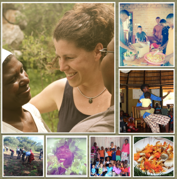 Photos Clock wise from Top Left: Women are Medicine; Men are Magic in the kitchen cooking; Tinashe dancing with Matheus during the Intergenerational retreat; mushroom season - bounty from the forest; Nyeredzi first term 2014; Stephen forest prince, during our intergenerational retreat; community work January 2014.